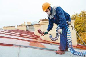 cout peinture de toiture Le Pradet